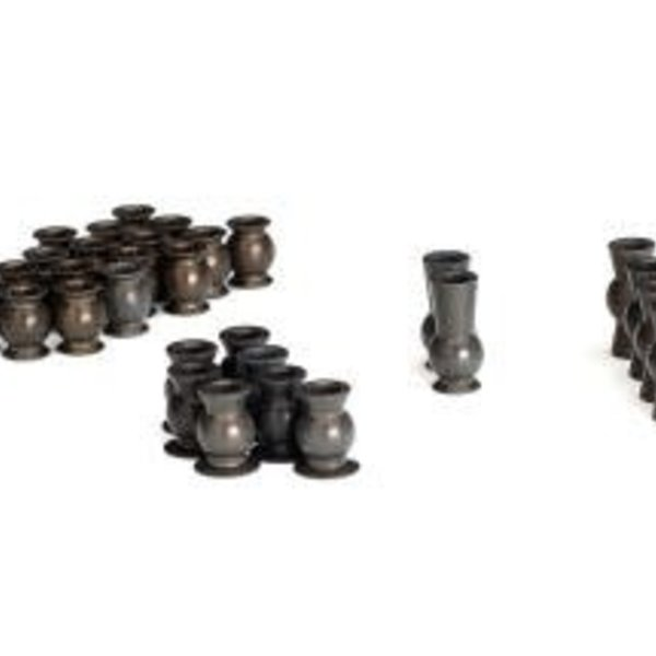 Traxxas Hollow ball set, complete, TRX-4 (aluminum, PTFE-coated)