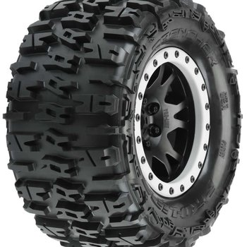 """PROLINE Trencher 4.3"""" Pro-Loc All Terrain Tires (2) Mounted"""