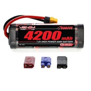 VENOM 1546 NiMH 7.2V 4200mAh Stick Pack Univ Plug