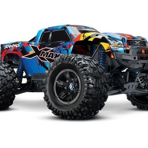 maxx monster truck traxxas brushless electric tsm tqi link system 4ghz radio camions autos