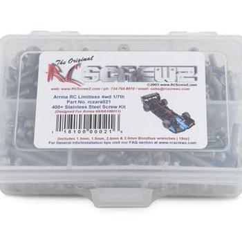 Stainless Steel Screw Kit Arrma Limitless 1/7th