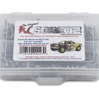 Stainless Steel Screw Kit -ARA Mojave 6s BLX 1/7th