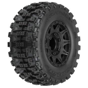 """PROLINE Pro-Line Badlands MX28 Belted 2.8"""" Pre-Mounted Truck Tires (2) (Black) (M2)"""