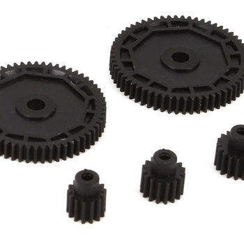 ECX Pinion & Spur Gear Set: 1/18 4WD All