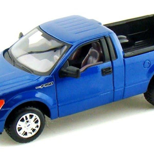 1/24 2010 Ford F150 Pickup Truck (Met. Blue) (D)