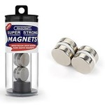MAGCRAFT 3/4''x1/4'' Rare Earth Disc Magnets (4)