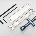 Traxxas 2748X TOOL SET- WRENCH, ALLEN, LUG & U-JOINT WRENCHES
