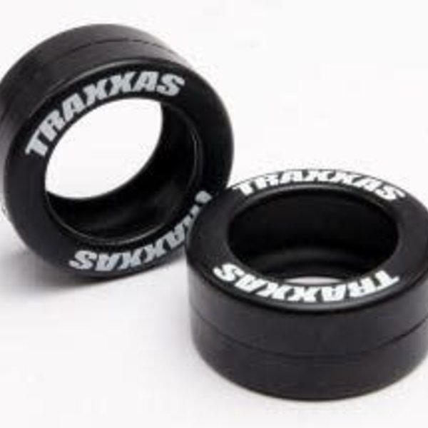 Traxxas 5185 Rubber Tires Wheelie Bar Wheels (2)