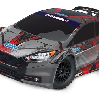 Traxxas Ford Fiesta ST Rally: 1/10 Scale Electric Rally Racer with TQ 2.4GHz radio system