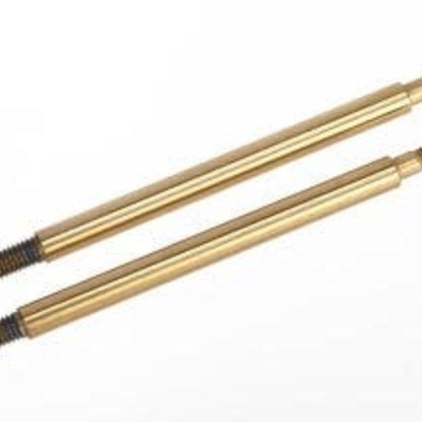 Traxxas 7464T Shock Shaft, GTR Long, TiN-Coated (2)