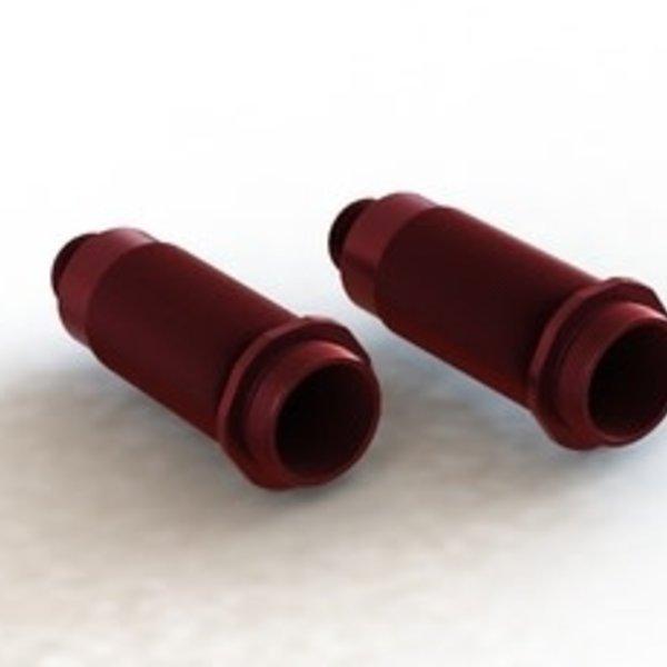 arrma AR330480 Shock Body 16x61mm Aluminum Red 6S (2)