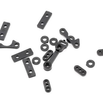 LOS Chassis Spacer/Cap Set: 8B 2.0