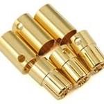 Castle Creations 8.0mm CC Bullet Connector Set