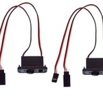 APEX Apex RC Products Futaba Style HD On/Off Switch W/ Charge Port - #1057