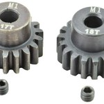 APEX Apex RC Products 17 & 18T Mod 1 M1 5mm 1/8 Scale Pinion Gear Set