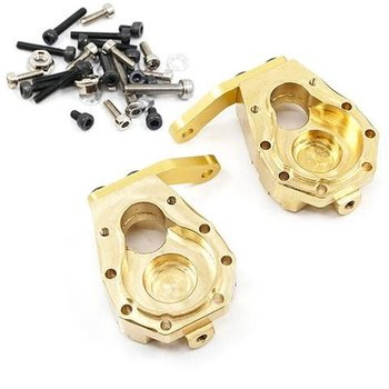 yah racing Yeah Racing Traxxas TRX-4 59g Brass Front Steering Knuckles TRX4-031