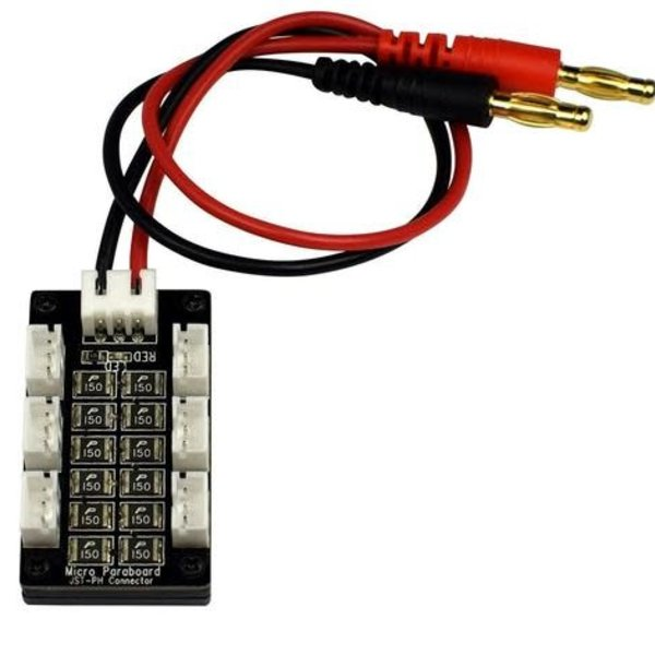 APEX Apex RC Products Blade 130 X, MCPX BL, Parkzone, & Eflite UMX 6 Battery Parallel Charging Board #1461