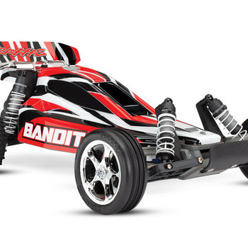 Traxxas Bandit: 1/10 Scale Off-Road Buggy with TQ 2.4 Transmitter requires wall adptor tra2976