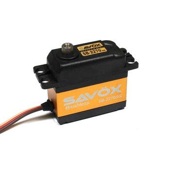 SAVOX SB2270SG - High Voltage Brushless Digital Servo .12/444 @7.4V