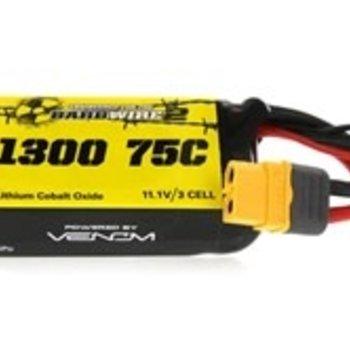 VENOM 75C 3S 1300mAh 11.1V LiPo Battery