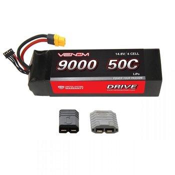 VENOM DRIVE 50C 4S 9000mAh 14.8V LiPo:UNI 2.0-TRX Plug
