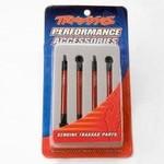 Traxxas 7118X Push Rods Alum Red Anodized VXL (4)