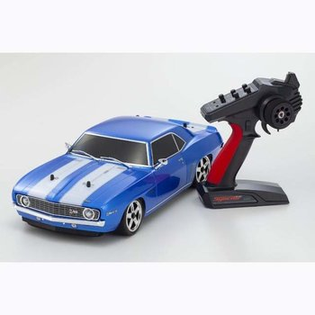 KYOSHO KYOSHO FW06 1969 CAMARO Z/28 BLUE (Includes shipping to lower 48 states)