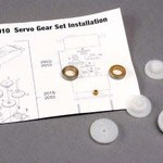 Traxxas 2010 SERVO GEAR SET 2018