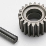 Traxxas 3996X Idler gear, 20-tooth/ idler gear shaft