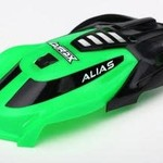 Traxxas 6614 Canopy Green/Screws Alias