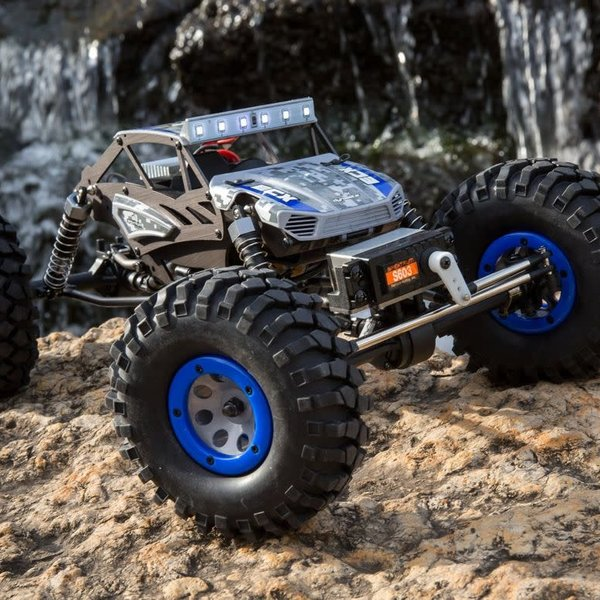 axial 1/18 4WD Temper Gen 2, Brushed: Blue RTR