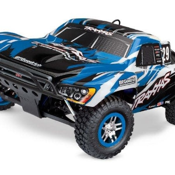 Traxxas 59076-3-BLUE Slayer Pro 4x4 Nitro Truck RTR TQ 2.4Ghz (Ground shipping included in online price to the lower 48 states)