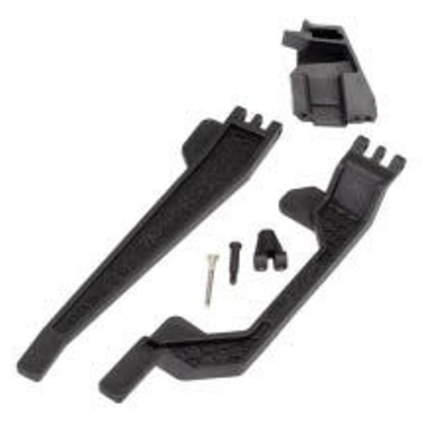 Traxxas Battery hold-down (2)/ battery clip/ hold-down post/ screw pin/ pivot post screw