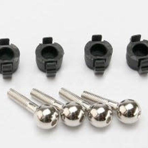 Traxxas 7033 Pivot Balls/Caps VXL (4)