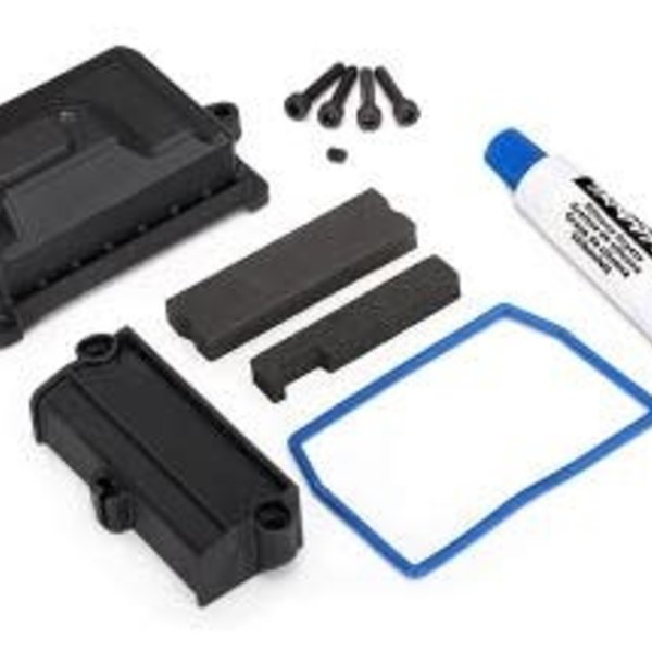 Traxxas 7724 Box/Receiver/Wire Cover/Foam Pads