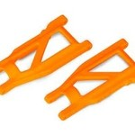 Traxxas 3655T - Suspension arms, orange, front/rear (left & right) (2) (heavy duty, cold weather material)