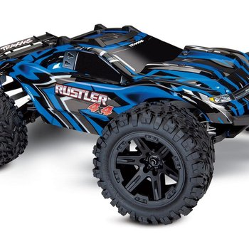 Traxxas Rustler 4X4: 1/10-scale 4WD Stadium Truck