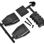 Traxxas 73412 BLACK Mock Intake/Blower Set
