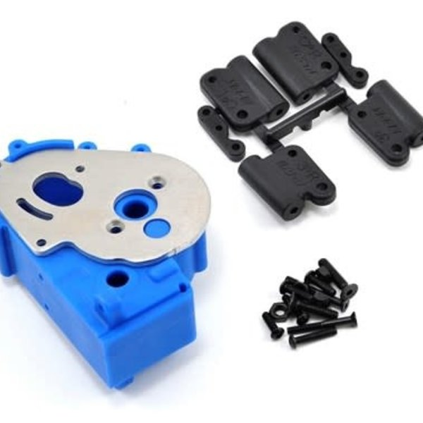 RPM 73615 Hybrid Gearbox Housing/Re Mnts Blue
