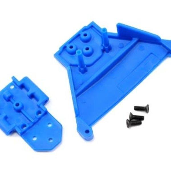 RPM 73565 Front Bulkhead LCG Slash 4x4 Blue