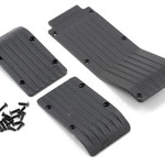 RPM 80112 Skid/Wear Plate Blk 3pc T/EMx