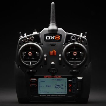 SPECKTRUM DX8 8-Channel DSMX Transmitter Gen 2, Mode 2