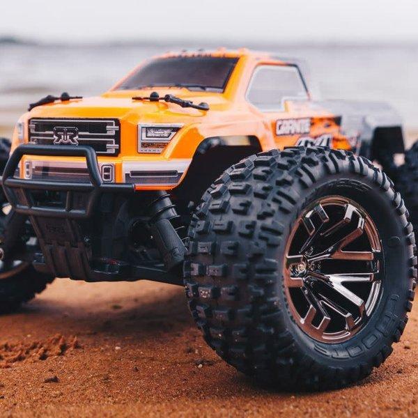 arrma 1/10 Granite 4X4 3S BLX 4WD MT (Orange/Black)