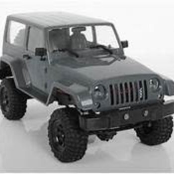 RC4WD RC4WD 1/18 Gelande II RTR Scale Mini Crawler w/Black Rock Body Set & 2.4GHz Radio