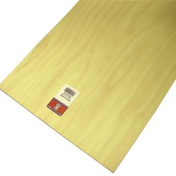 "mid-america products Midwest Products 5245 Craft Plywood Sheet, 3/16""H x 12""W x 24""L"