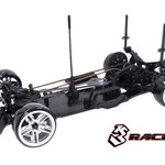 Sakura 3RACING KIT-D4AWDS/BK Sakura D4 AWD 1/10 Drift Car Sport Black Version