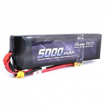 GENSACE Gens Ace 3S Soft 50C LiPo Battery Pack w/XT60 Connector (11.1V/5000mAh)