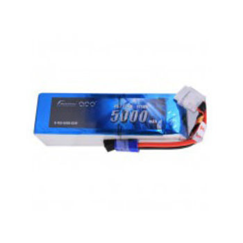 GENSACE Gens ace 5000mAh 6S1P 22.2V 45C LiPo Battery Pack with EC5 Plug