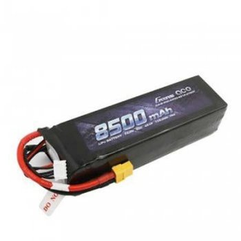 GENSACE Gens ace 14.8V 50C 4S 8500mAh Lipo Battery Pack with XT60 Plug for Xmaxx 8S Car