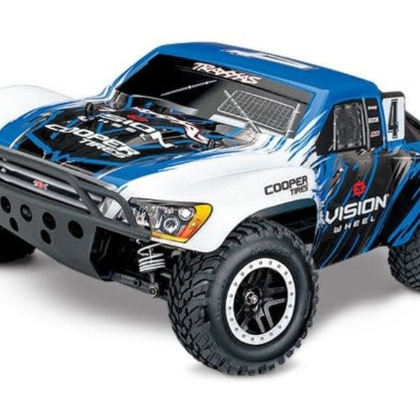 Traxxas Slash 4X4: 1/10 Scale 4WD Electric Short Course Truck with TQi Traxxas Link Enabled 2.4GHz Radio System & Traxxas Stability Management